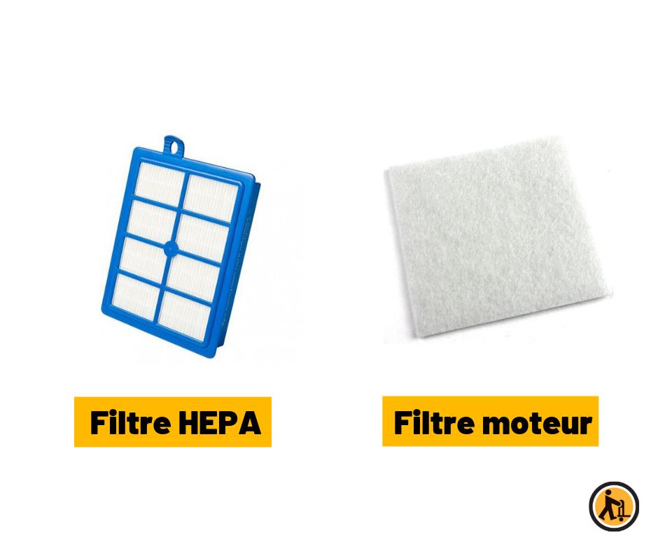 Filtre HEPA/ Filtre moteur