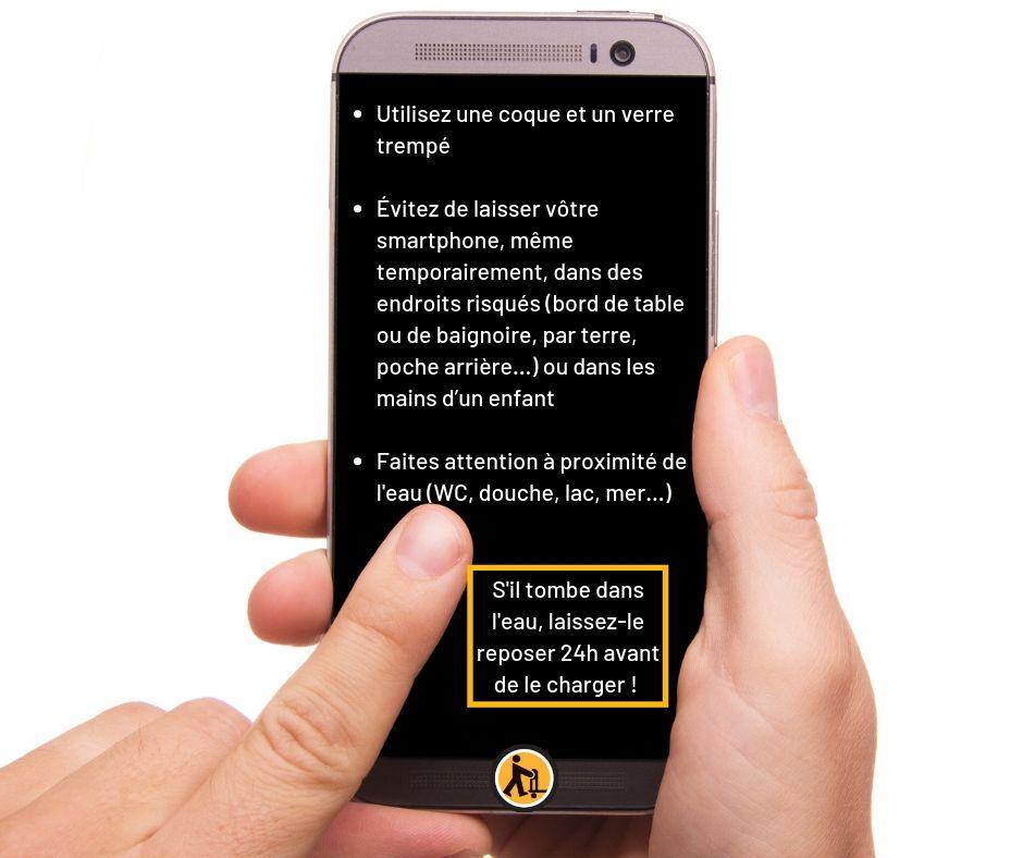 Comment prolonger la durée de vie de mon smartphone