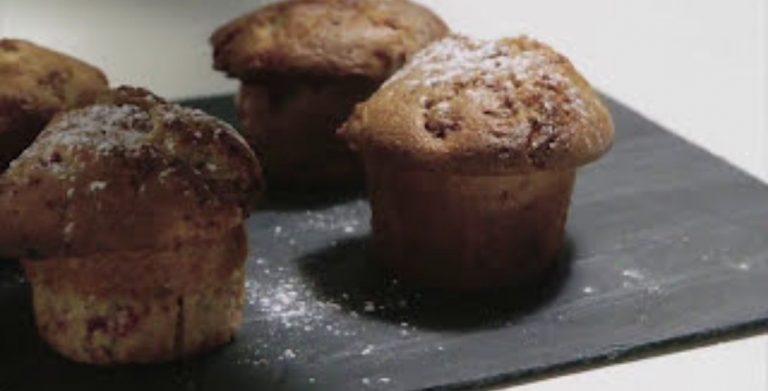 Recette de muffin au chocolat et à la framboise