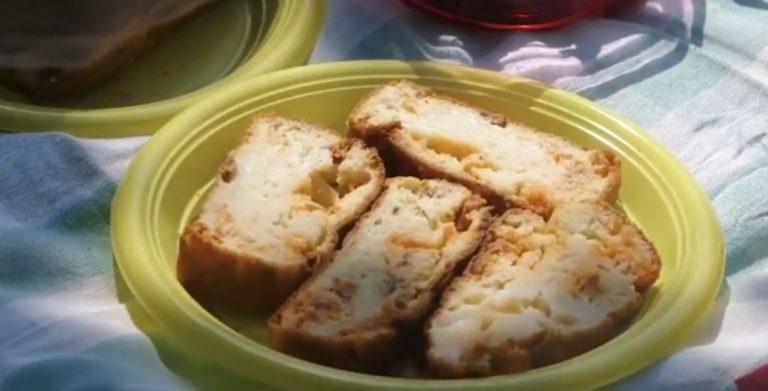 Recette de cake au chorizo, tomates séchées et chèvre