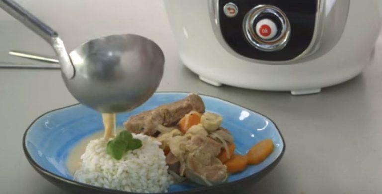 Recette de blanquette de veau, avec Cookeo