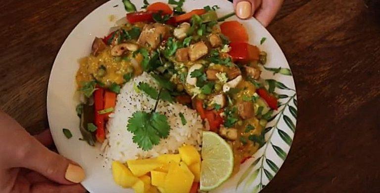 Recette de curry de légumes par Eva