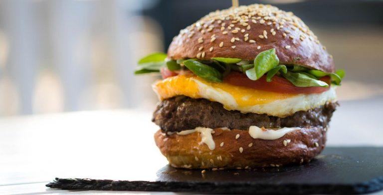 Recette de hamburger au bleu par Papa en cuisine