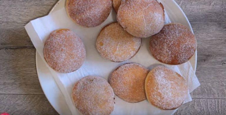 recette de beignets à la confiture, par Christelle