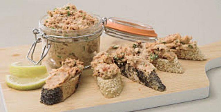 recette de rillettes au saumon