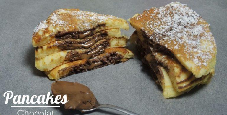 Recette de pancakes au chocolat, par Pierrot