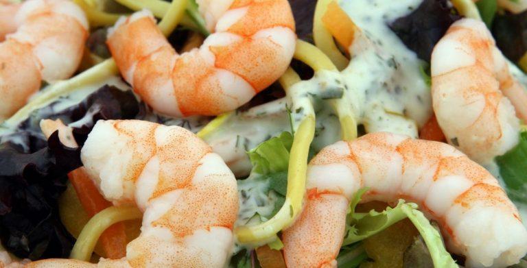 recette de tartare aux crevettes