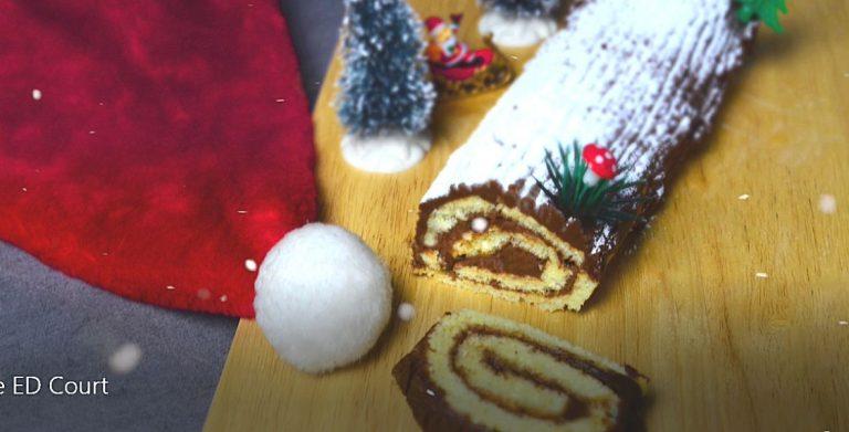 Recette de bûche de Noël, par Pierrot