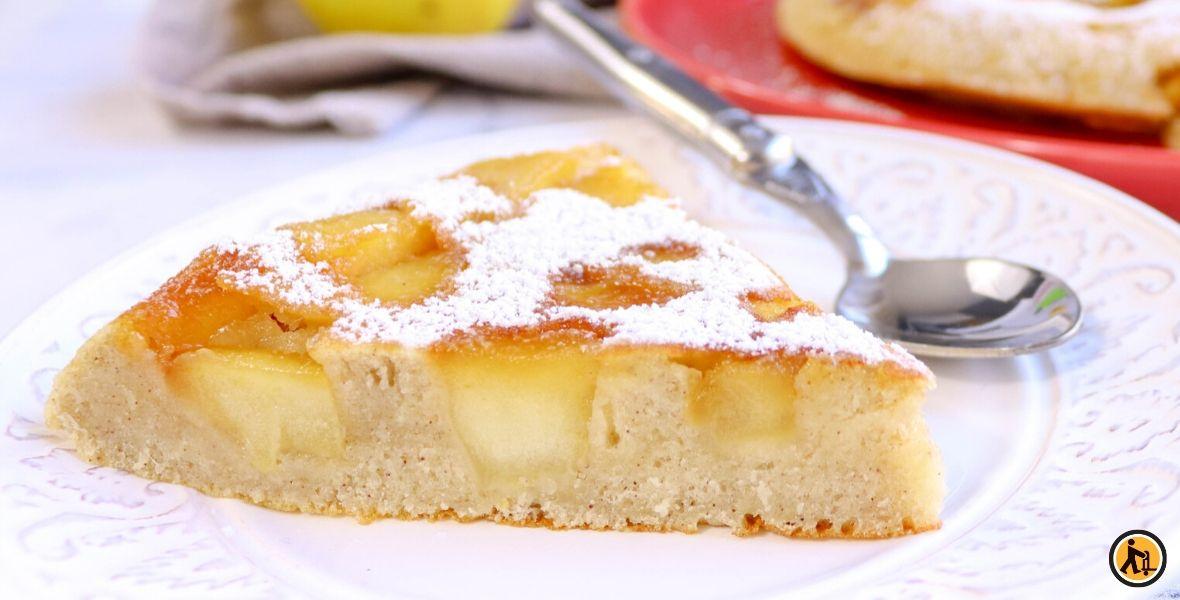 Recette de gâteau aux pommes, par Il était une fois la pâtisserie