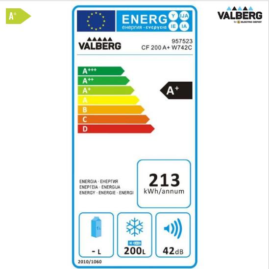 label énergétique congélateur