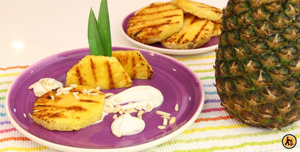 Recette d'ananas rôti, par Carl is cooking