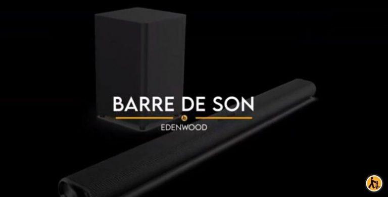 Immergez-vous dans votre télévision avec notre barre de son Edenwood !
