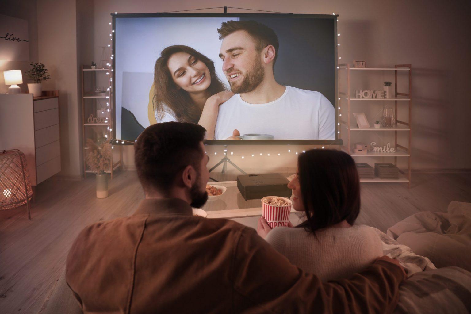 Image d'un cinéma à la maison