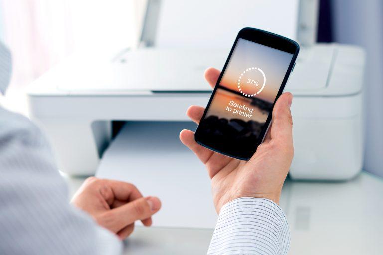 connecter une imprimante en wifi